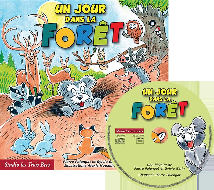 1J forêt – livreCD