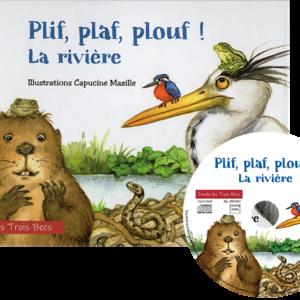 Rivière – livreCD